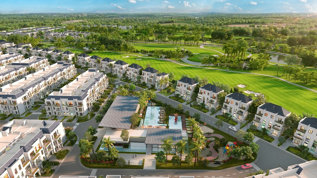 Toàn cảnh west lakes golf & villas